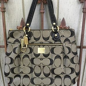 Signature Poppy Coach Purse